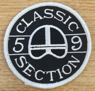 59 Club Classic Patch CURRENT CLASSIC MEMBERS ONLY