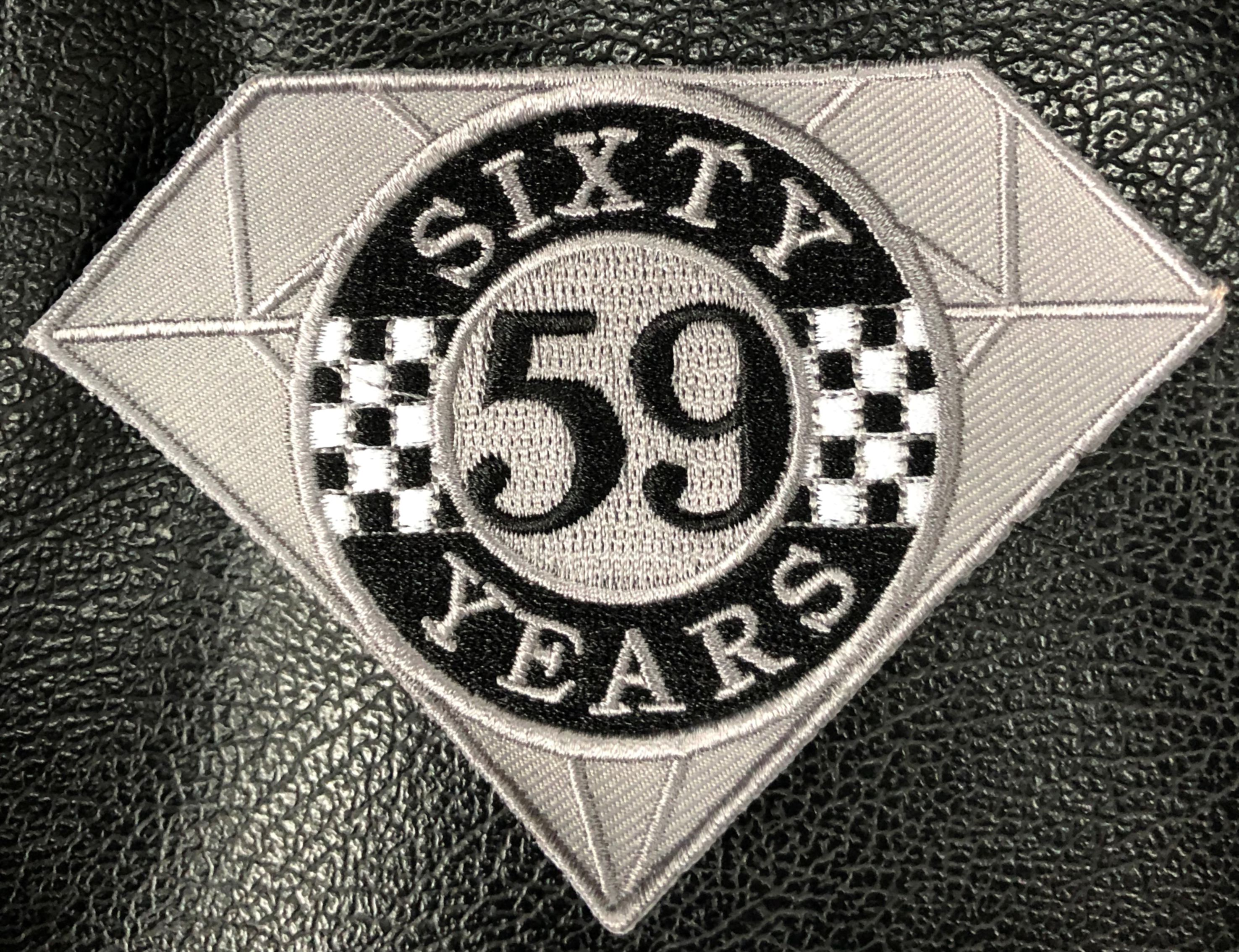 59 Club 60th Anniversary Cloth Patch